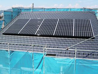 太陽光発電システム 施工例1